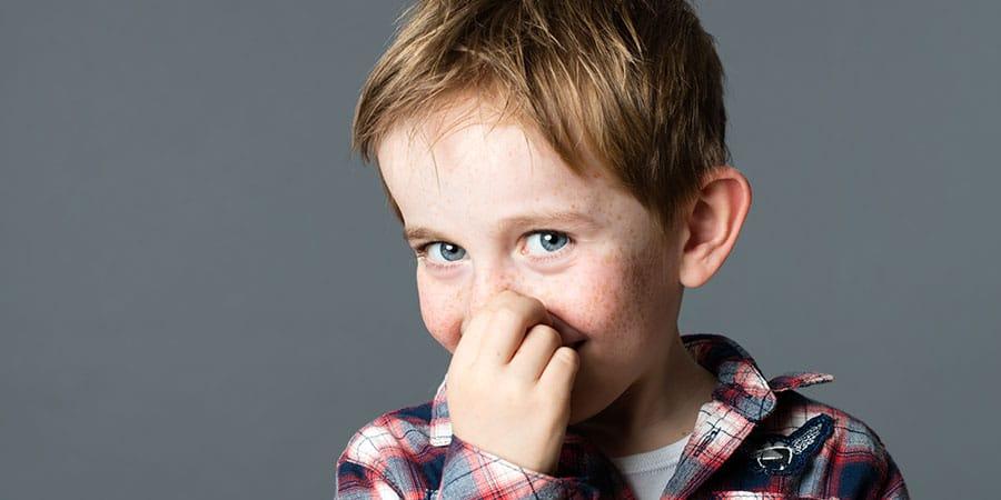 Kinder-HNO  über blockierte Kindernase